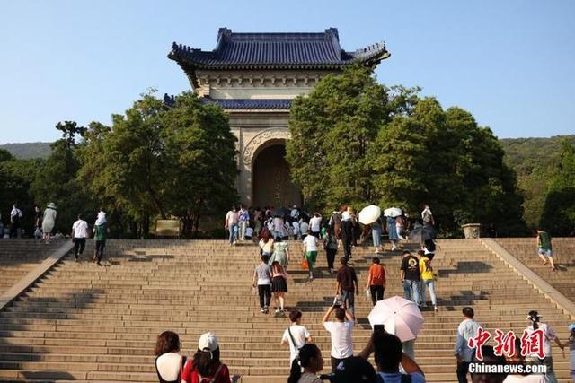 南京中山陵确保民众有序参观 中山陵墓室不对外开放 全球新闻风头榜 第7张
