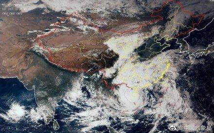 台风圆规在海南琼海登陆 全球新闻风头榜 第1张