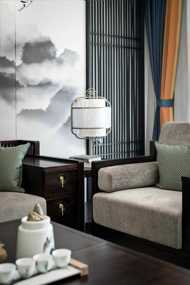 中式装修,180㎡现代中式,没有老土气的设计,禅意儒雅好高级