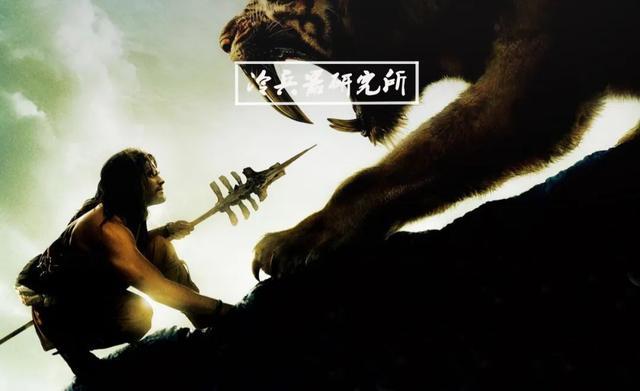 箭头图片,上古战斗民族与艺术民族的箭头对比:你的精致?我的能爆头剑齿虎