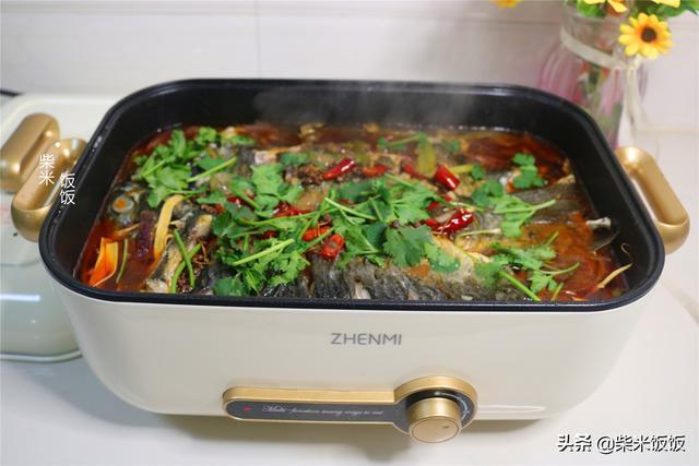 烤鱼的做法,天冷想吃烤鱼,教你家庭版做法,麻辣鲜香,比买的还好吃
