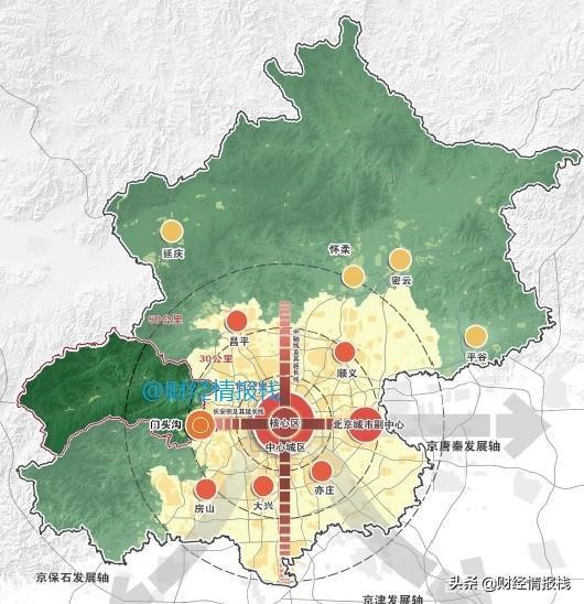 门头沟旅游景点大全,京西山水:未来15年,门头沟这几个区域将重点发展