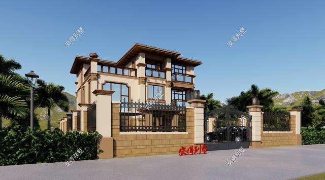 别墅装修设计,农村6款超赞的欧式别墅设计图纸,好看又好住,赶紧收藏