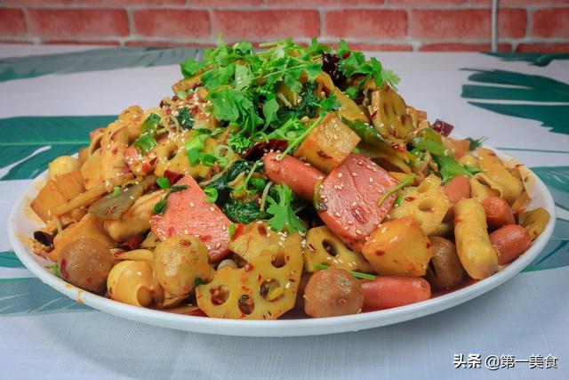 麻辣香锅的家常做法,厨师长分享家常麻辣香锅做法,配方独特口味地道,全是干货请收藏