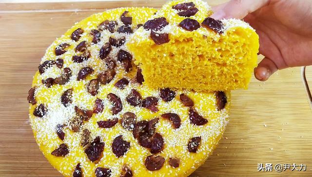 怎么做发糕,南瓜发糕怎么做松软又好吃?调好面糊是关键,香甜美味不发粘