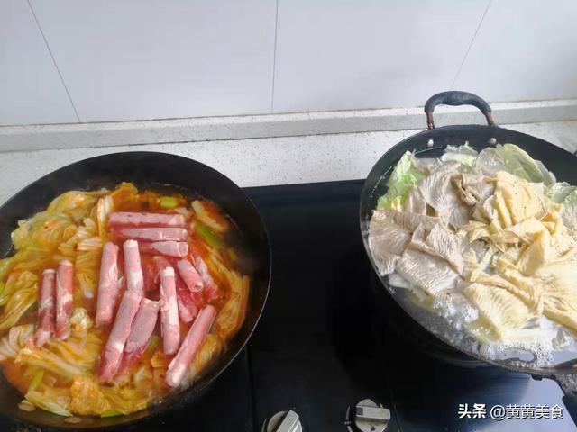 做火锅怎么做,吃一顿幸福的火锅这么简单,省时又省事儿,两个炒锅就行