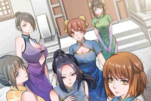 元龙漫画,元龙漫画:龙套角色个个貌美如花,女主们表示压力山大