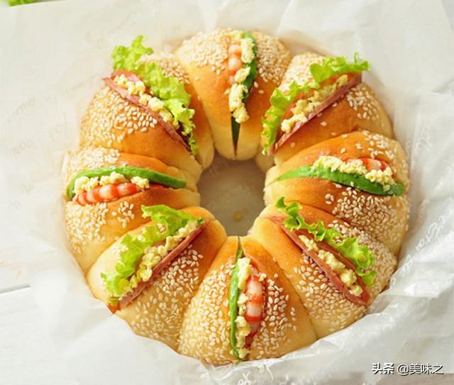 汉堡的做法,营养全面的汉堡16种做法,自制的汉堡,好吃又实在