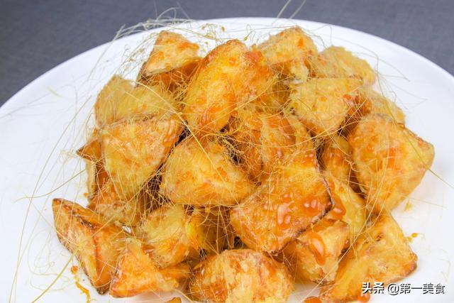 拔丝红薯的做法,厨师长教你拔丝红薯做法,步骤清晰简单,绝对让你一次就能成功
