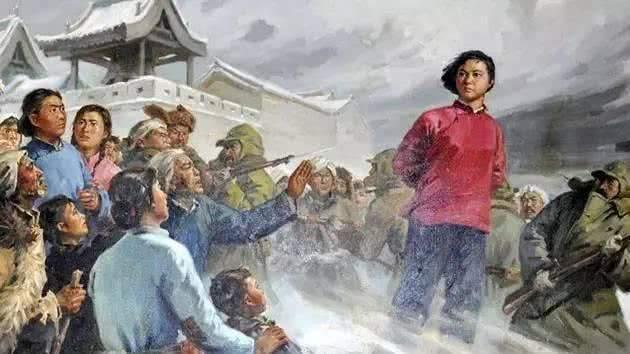 刘胡兰的故事简介,刘胡兰的故事