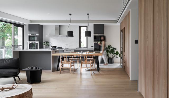 家居装修,装修坚持从简,125㎡干净清爽,家居氛围太让人心动了