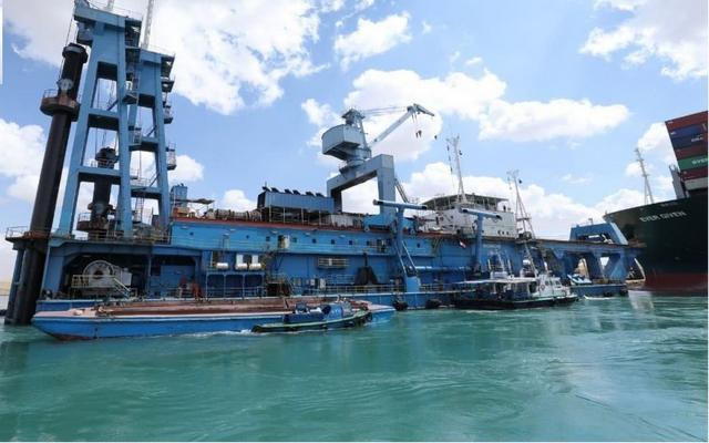 苏伊士运河早已航运,相关赔付程序流程全面启动