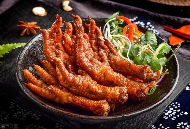 虎皮鸡爪的做法,八大菜系虎皮凤爪的做法
