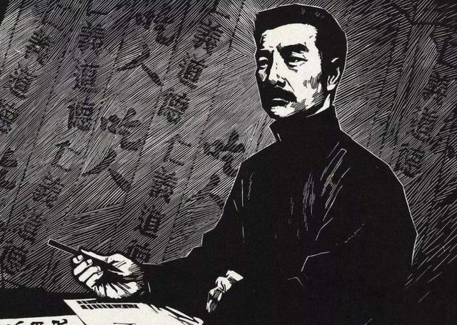 鲁迅先生的简介,鲁迅去世惊动了半个文坛:蔡元培主持葬仪,巴金为他抬棺