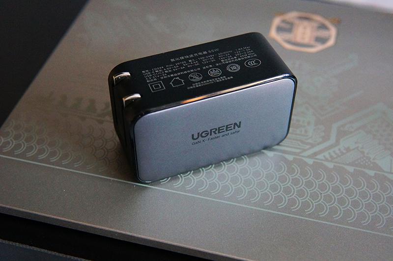 高颜值,大功率:绿联小口红65W氮化镓充电器体验