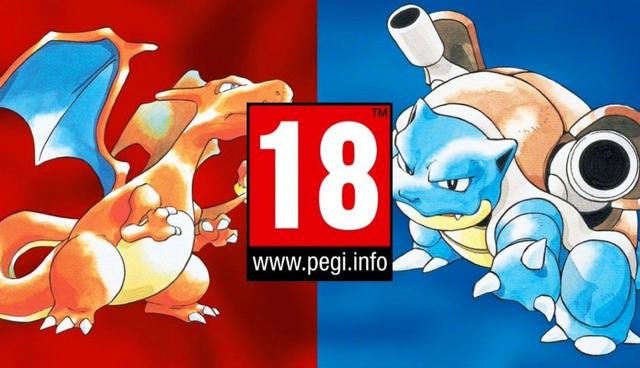 《宝可梦红/蓝》重制将被欧洲定为18X游戏?