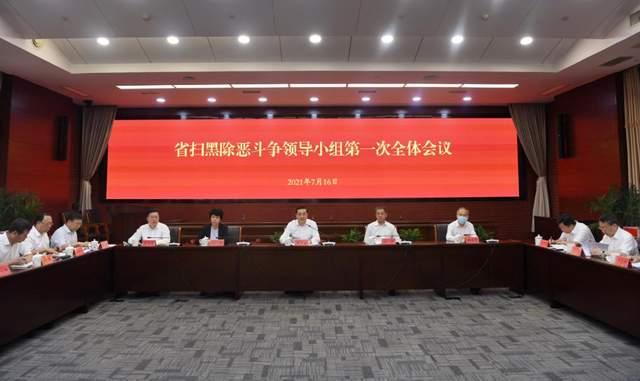 费高云在省扫黑除恶斗争领导小组第一次全体会议上强调