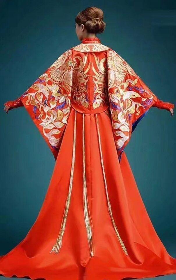 中式婚纱美美哒