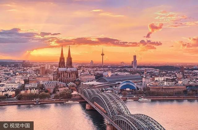 浪漫庄园 奶酪:陪家人巡游莱茵河,