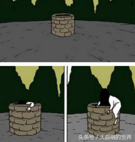 搞笑贞子漫画:与贞子谈恋爱的漫画、贞子图片大全吓人、贞子图片可爱的