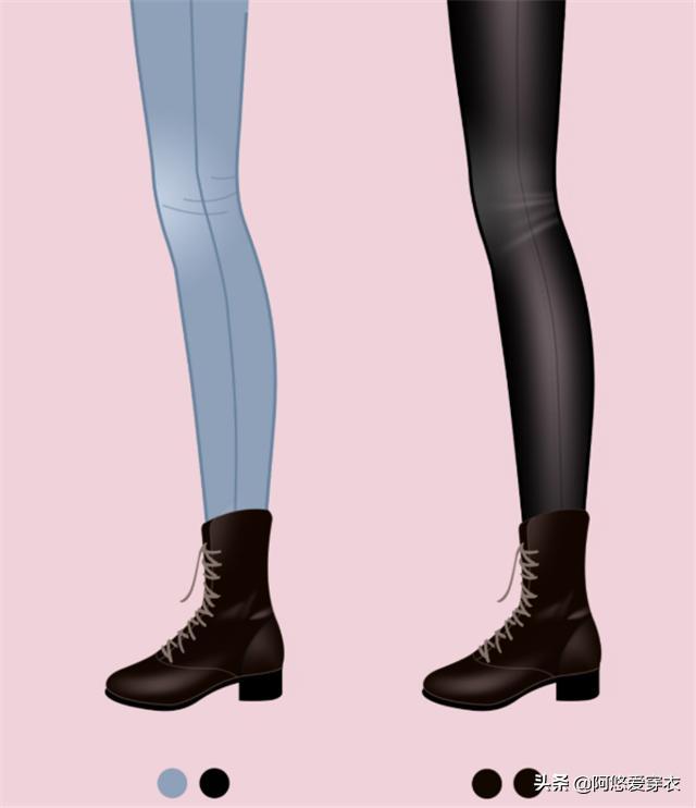 """身高仅158的女生,发起多穿""""九分裤+低跟靴"""",优化比例还特显高5900 作者:admin 帖子ID:23449"""