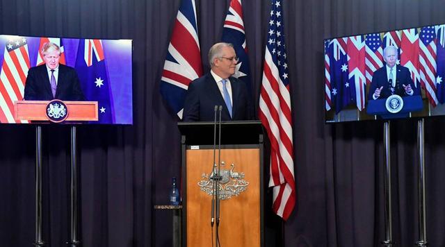 眼馋澳大利亚获得核潜艇,日本印度也想入群,美国白宫直接拒绝