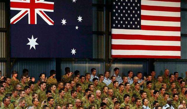 美国反华下血本,送澳大利亚定心丸,就算要F22,美军也派过去