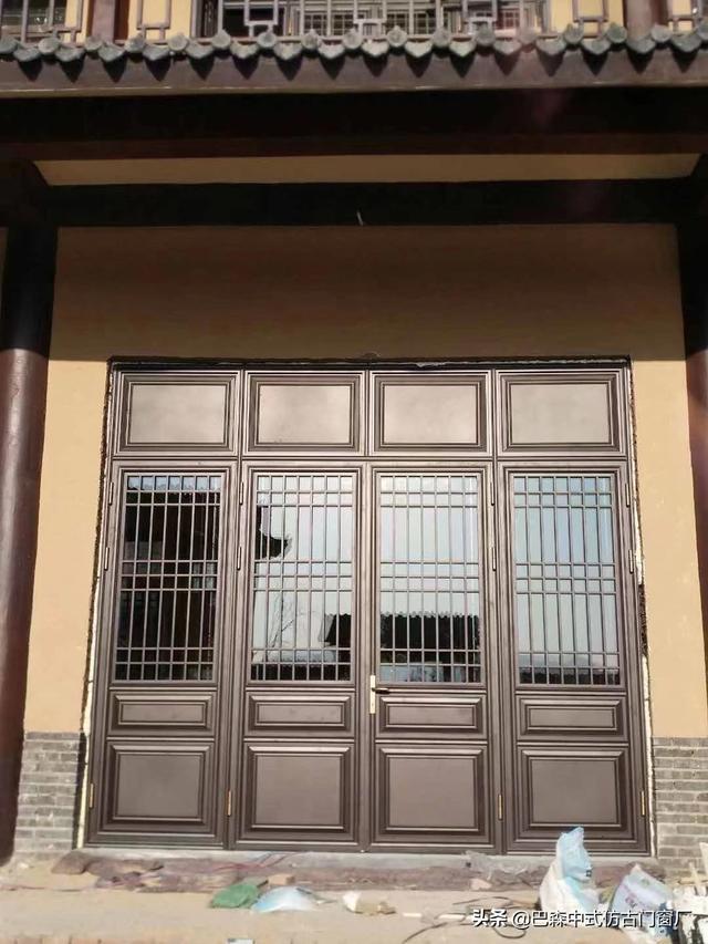 仿古铝相符金门窗,带给你纷歧样的家居体验