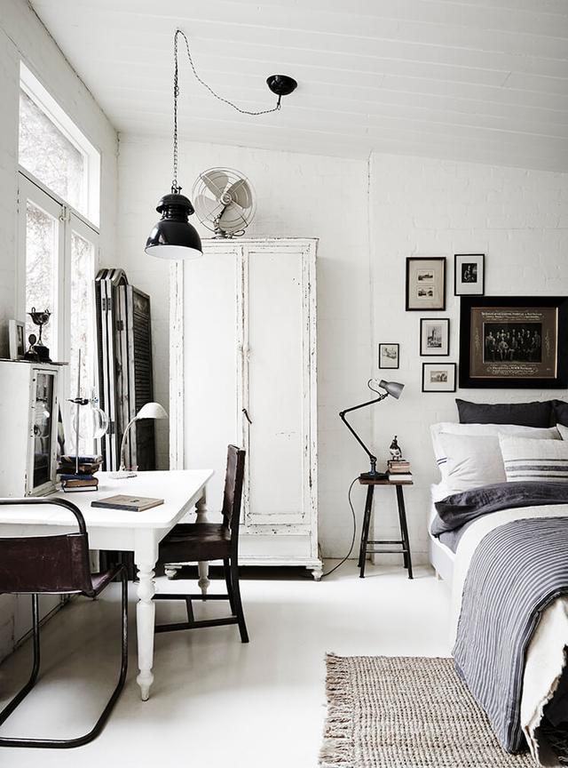 墨尔本的白色房间