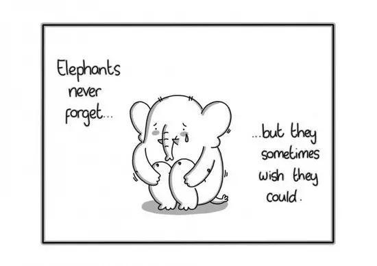 好难过的搞笑漫画图片:奇趣漫画:这些涂鸦幽默中似乎透着点谈谈的悲伤