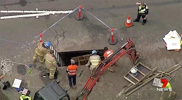 国际新闻:墨尔本新下水管道走上正轨
