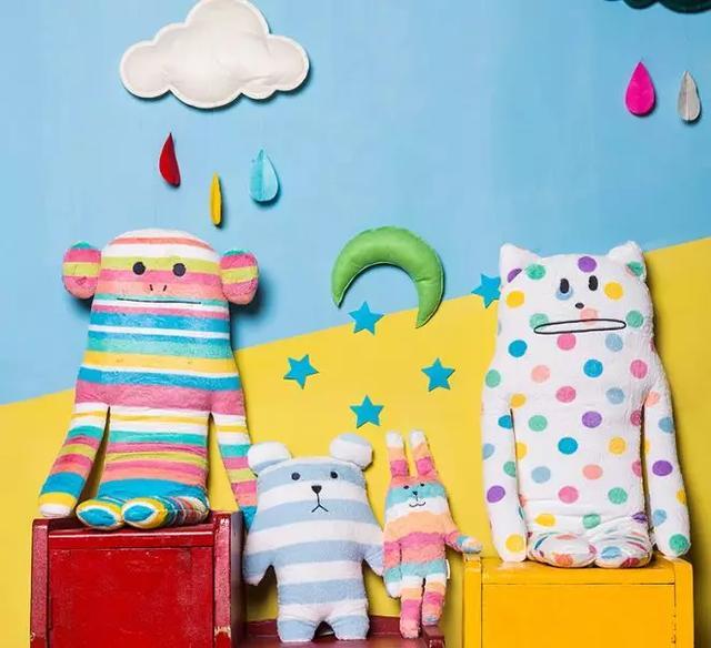 毛绒玩具图高清:这些毛绒玩具不但品质很好还无敌可爱,大人小孩都喜欢