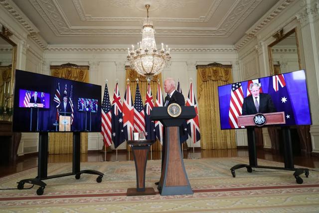 今天,美英澳突然成立新组织,干的第一件事就严重威胁中国