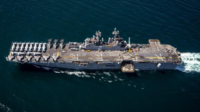 美军准航母亚太部署,战巡南海昙花一现,奔赴中东,伊朗才是目标