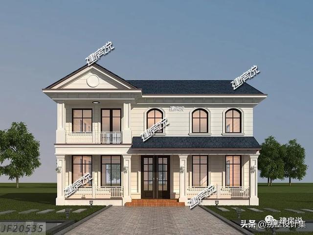 新款别墅设计,一栋比一栋精美,是不是这套最得你欢心?