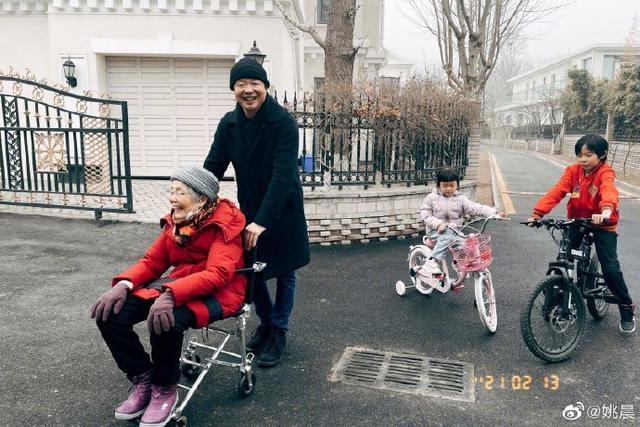 节哀:节哀!曹郁90岁母亲病逝,儿媳姚晨悲痛悼念:我们不只是婆媳