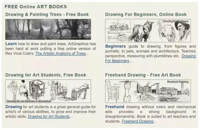 90%学画画的人都会收藏的30个免费绘画素材网站!全是宝藏啊