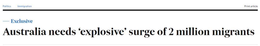 突发!澳洲或要引进200万移民,狂送PR救经济?爆炸式吸人才?新州大解封,到处被人挤爆,理发店预约到年底