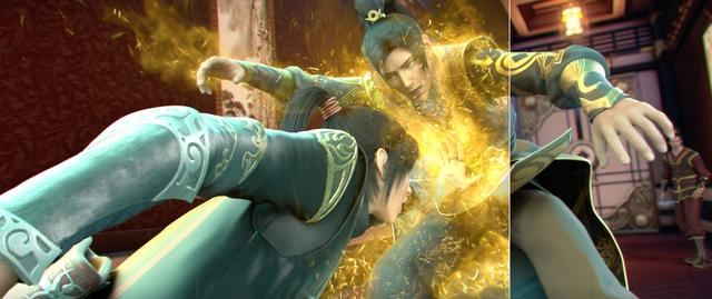 斗破4:萧炎和雅妃约会被打扰,爆发实力,少顷解决斗师强者