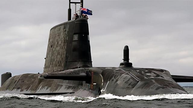 「深度」用核潜艇、战斧导弹武装澳大利亚,挡不住我军在台海出拳