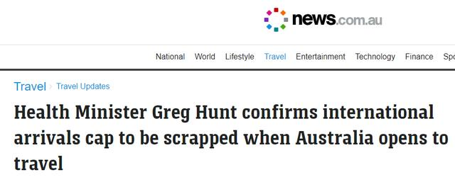 重大!澳洲总理:最早11月1日开国境!新州今天解封,商场挤爆了!成百上千人排队购物,黑压压一片