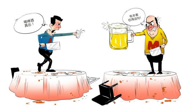 情商高的销售精英为何要请客户喝酒