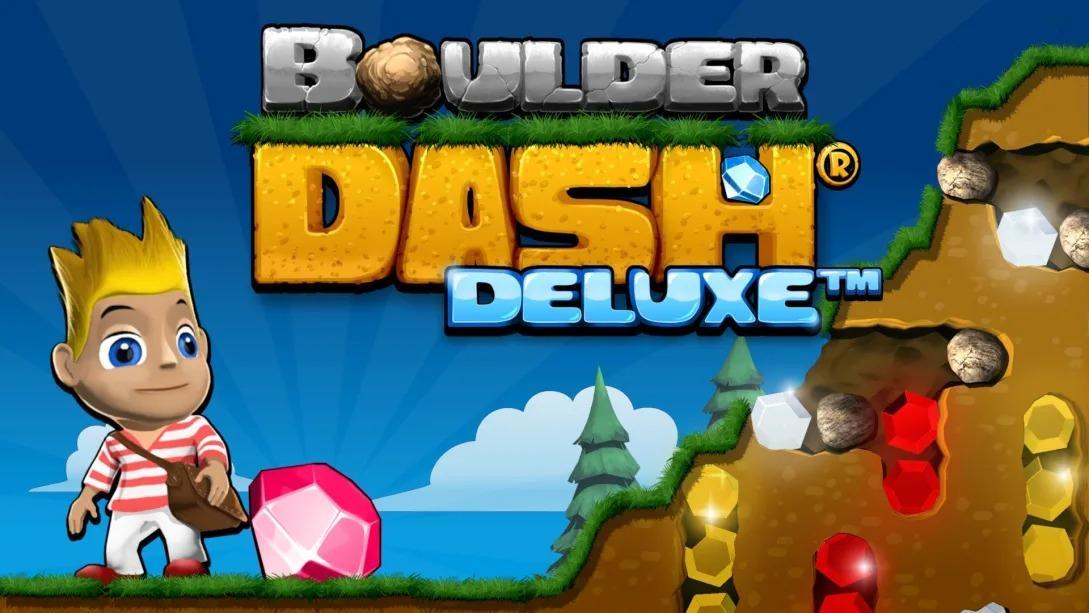 巨石冲刺 豪华版(Boulder Dash Deluxe)插图6