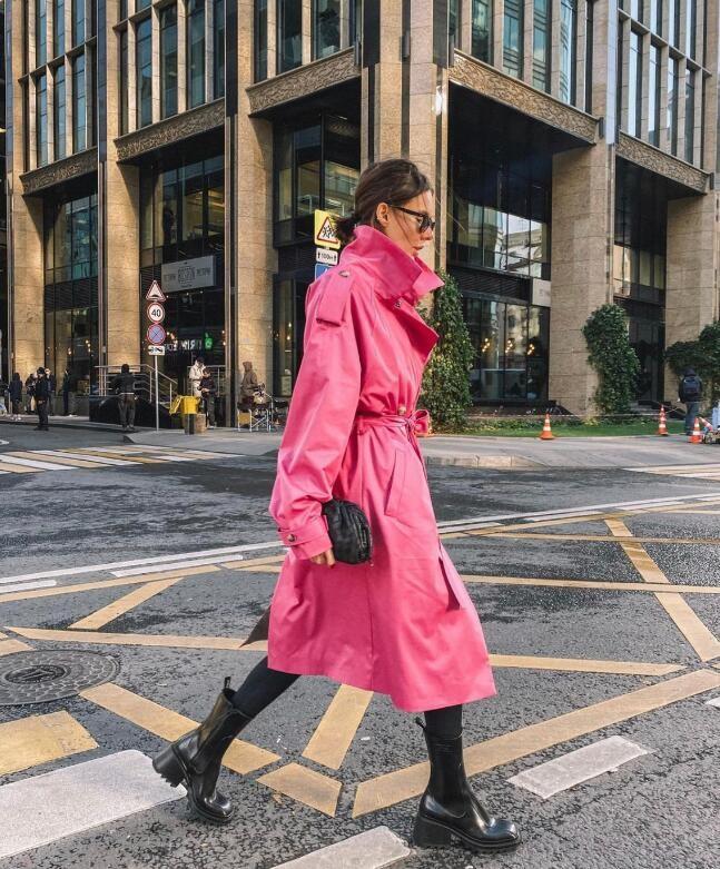 莫斯科时尚博主Yana Koroed秋冬穿搭示范 简约风格大爱了