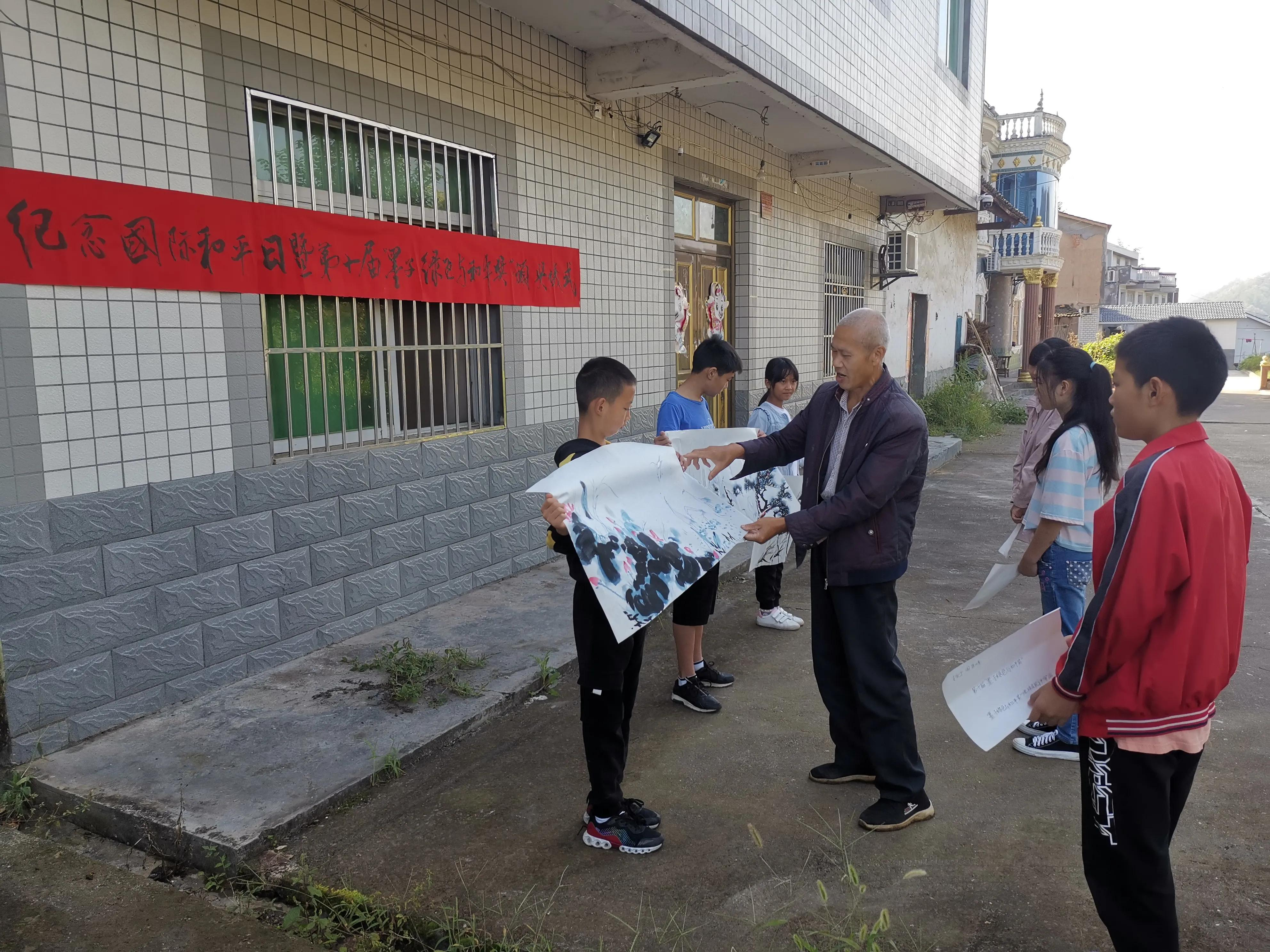 和平日与中秋节相遇,这个奖在西河村颁发