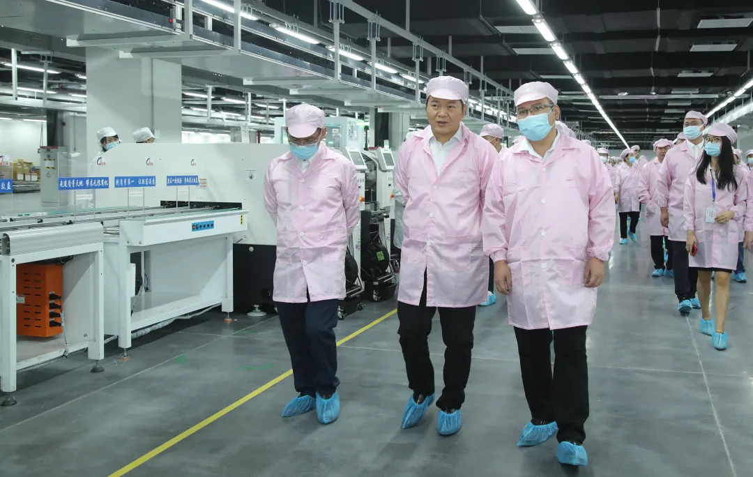 强力巨彩百亿LED产业园顺利投产!开创辉煌新篇章