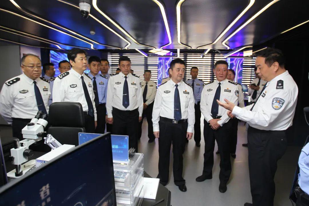 张承平率队赴济南市公安机关开展东西部警务交流协作对接和考察学习