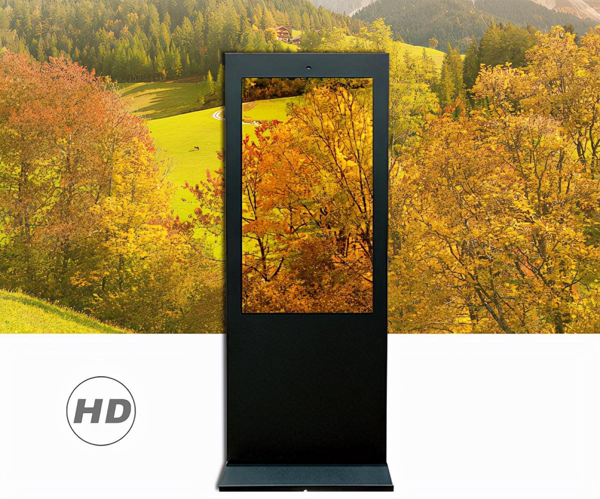 多媒体户外液晶广告机开发出新的广告模式应用