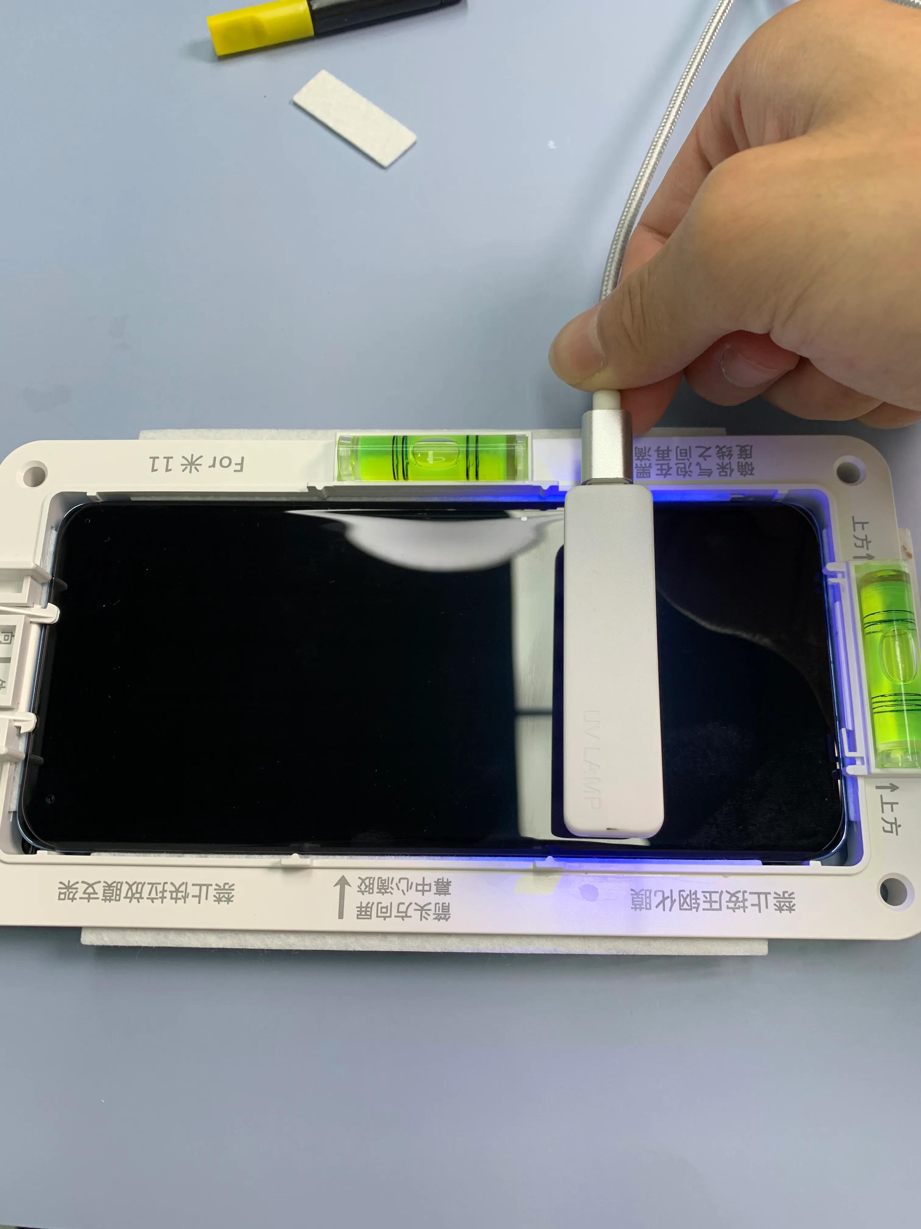 小米11超详细uv手机钢化贴膜教程来啦